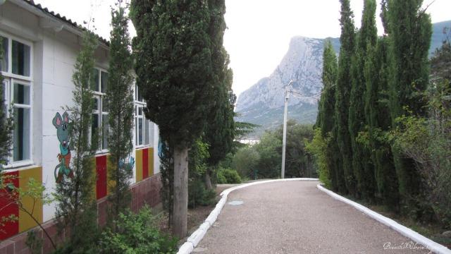 Территория детского лагеря Ласпи