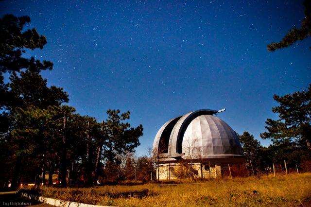 Обсерватория в поселке Научный