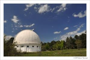 Крымская астрофизическая обсерватория в поселке Научный, Крым