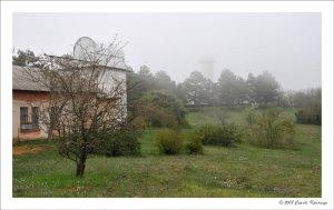 Поселок Научный. Обсерватория