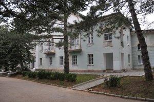 Поселок Научный (Крым). Отель