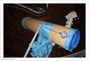 Первый немецкий телескоп в Крымкой обсерватории