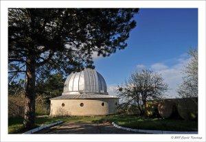 Поселок Научный. Телескопы